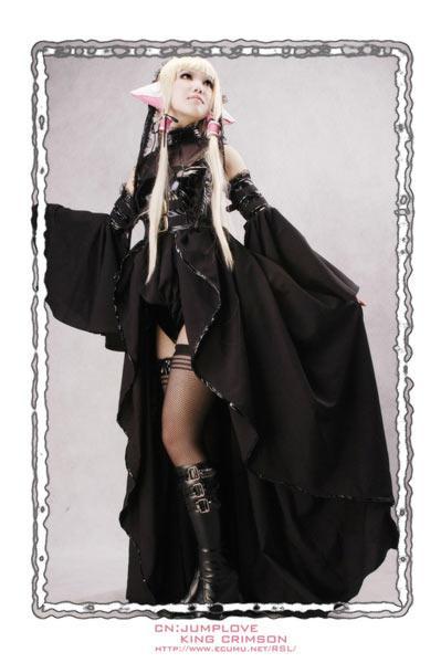 美女 cosplay/[人型电脑天使心]小叽COS秀央视国际www.cctv.com 2007年05月...