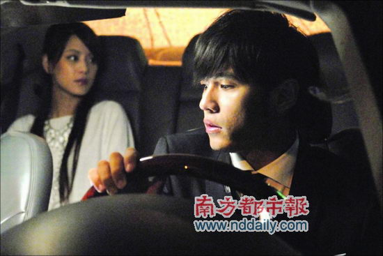 周杰伦和江语晨在MV中有唯美演出-周杰伦新歌MV砸百万名车 不惧绯图片