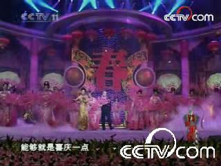 央视春节戏曲晚会录制现场