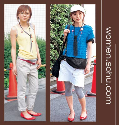 小丽搭配:160美女照样穿平底鞋