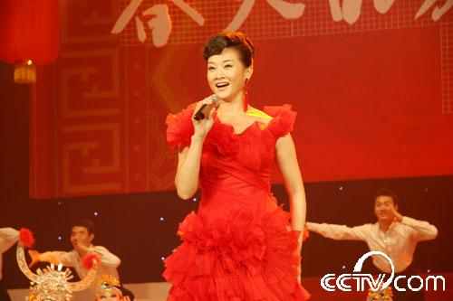 宋祖英演唱《大地飞歌》