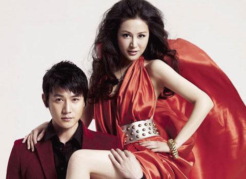 陆毅与妻子