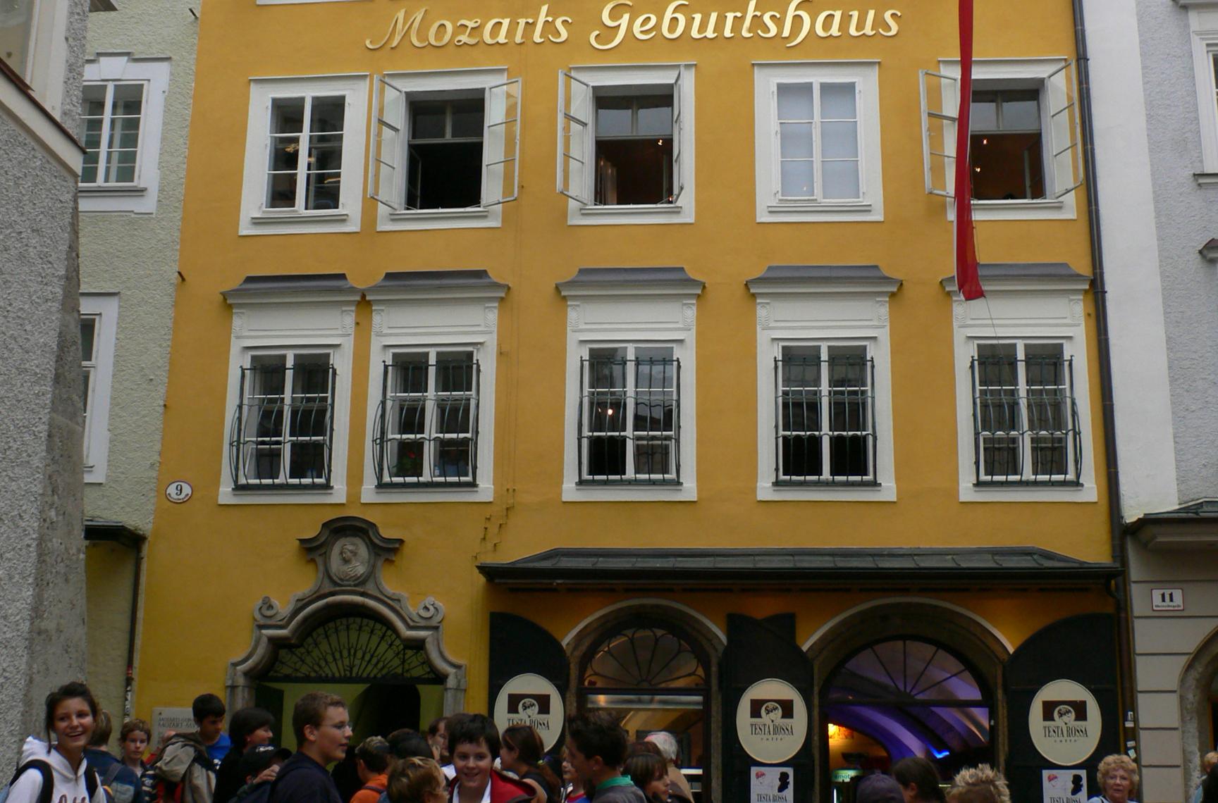 莫扎特萨尔斯堡的出生地