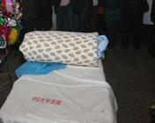 医院里安置的灵床