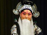杨淼 老生<br>剧目:碰碑<br>角色:杨继业<br>上海戏剧学院
