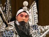 傅希如 老生<br>剧目:秦琼观阵<br>角色:秦琼<br>上海京剧院