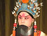 蓝天 老生<br>剧目:定军山<br>角色:黄忠<br>上海戏剧学院