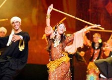 阿拉伯之夜歌舞晚会