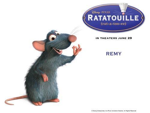 2008中美电影节《料理鼠王》海报