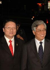 中美电影节主席苏彦韬和洛杉矶总领事张云