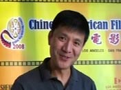 """刘之冰寄语:""""中美电影节为中美电影人加油。"""""""